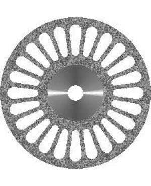 Диск алмазный с крупнозернистым покрытием - 24 ПРОРЕЗИ D 22
