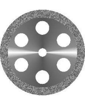 Диск алмазный с крупнозернистым покрытием - ОБОДОК 6 ОТВЕРСТИЙ D 19