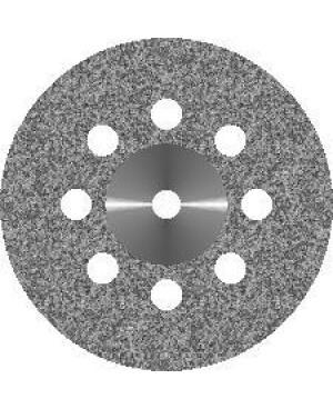 Диск алмазный с крупнозернистым покрытием - СПЛОШНОЙ 8 ОТВЕРСТИЙ D22