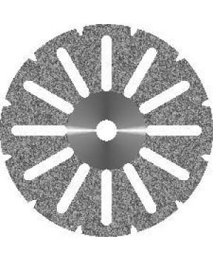 Диск алмазный  d 16 с мелкозернистым покрытием  - АКРИЛ 12 ПРОРЕЗЕЙ