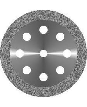Диск алмазный с мелкозернистым покрытием - ОБОДОК 8 ОТВЕРСТИЙ D 22