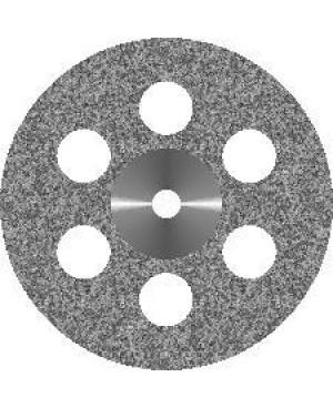Диск алмазный с мелкозернистым покрытием - СПЛОШНОЙ 6 ОТВЕРСТИЙ D19