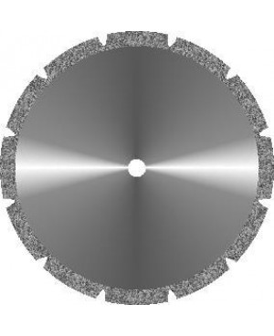 Диски алмазные зуботехнические большого диаметра с крупнозернистым покрытием - ГИПС d 45