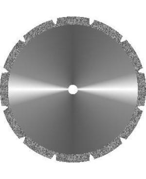 Диски алмазные зуботехнические большого диаметра с мелкозернистым покрытием - ГИПСd 45