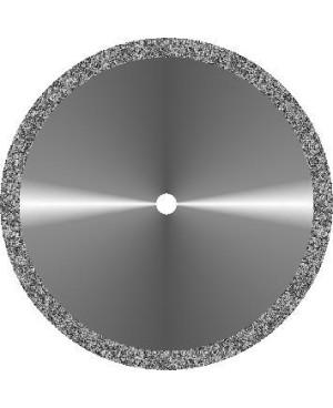 Диски алмазные зуботехнические большого диаметра с мелкозернистым покрытием - ГИПС ОБОДОК d 45