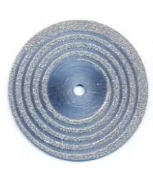 Диски алмазные зуботехнические с крупнозернистым покрытием - СПИРАЛЬ D 22