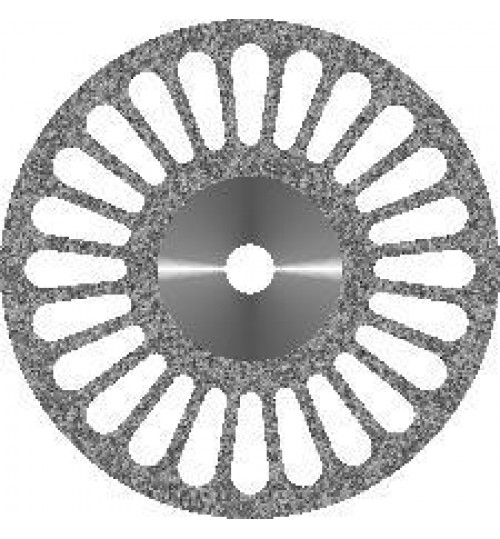 Диск алмазный с крупнозернистым покрытием - 24 ПРОРЕЗИ