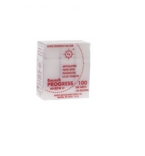 Артикуляц. бумага BK 52 красная 100мкм (300 л) BAU