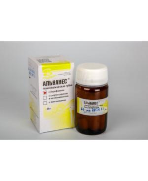 Альванес-губка-с йодоформом (30шт.) ВЛАДМИВА