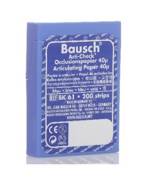 Артикуляц. бумага BK 01 синяя 200мкм (300 л) BAUSC