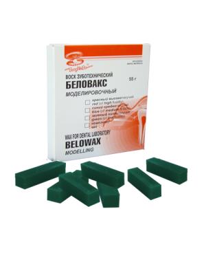Воск моделировочный Беловакс-М (55г) зеленый