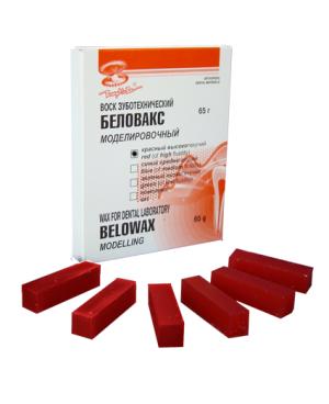Воск моделировочный Беловакс-М (55г) красный