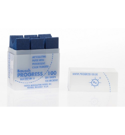 Артикуляц. бумага BK 51 синяя 100мкм (300 л) BAUSC