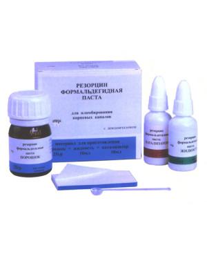 Резорцин - формальдегидная паста 25г+10мл+10мл