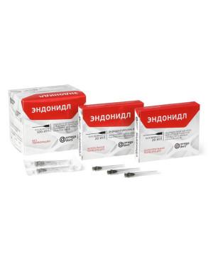 Эндонидл (100шт) без перфорации эндодонтические иглы (0,4х38мм)