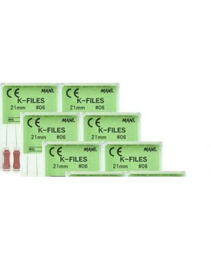 K- Files, 21 mm, ISO 35, MANI