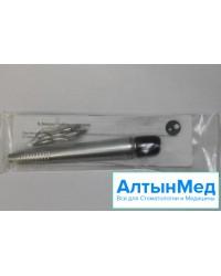 Наконечник стоматологический для снятия зубного камня НСЗК-01, комплект кюреток 3 шт.,