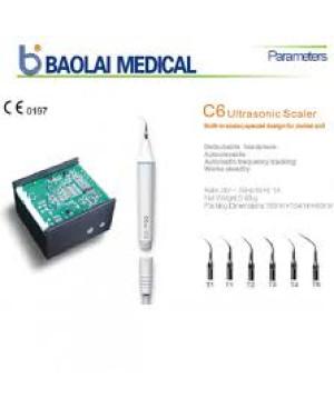 Скейлер Bool C6 с автоклавируемой композитной ручкой